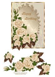 Elegant Birthday Rose