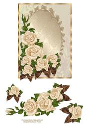 Elegant Blank Rose
