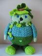 Fern Green Knitting Pattern
