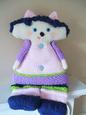Bluebell Kitty Doll Knitting Pattern