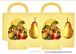 Birthday Pear Gift Bag