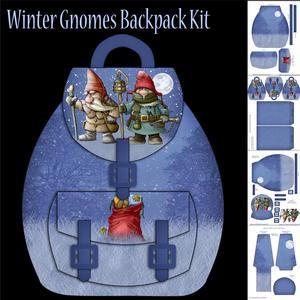 Winter Goblins Backpack Kit with Tags