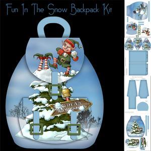 Snow Fun Christmas Elf Backpack Kit