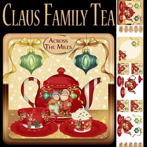Claus Family Tea Christmas Step by Step