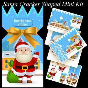 Santa Cracker Shaped Mini Kit