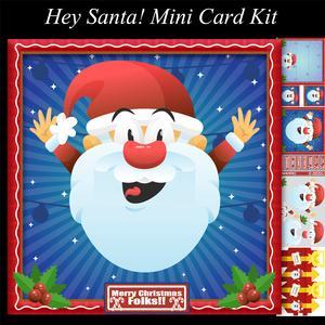 Hey Santa! Mini Card Kit and Box