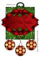 Deck the Halls, Christmas Decoration Card