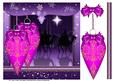 Purple Three Wise Men and Decorations