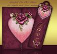 Loving Hearts Gatefold Cut Out Card