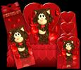 Valentine's Love Cat Step Kit