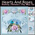 Hearts & Roses Mini Kit, Valentine, Mother's Day, Birthday