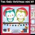 Winter Owls Mini Card Kit