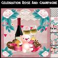 Celebration Rose and Champagne