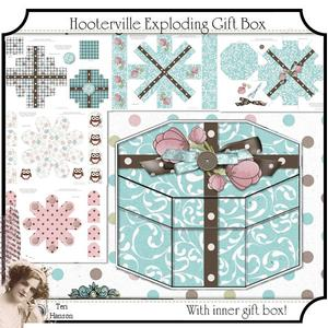 Hooterville Exploding Gift Box