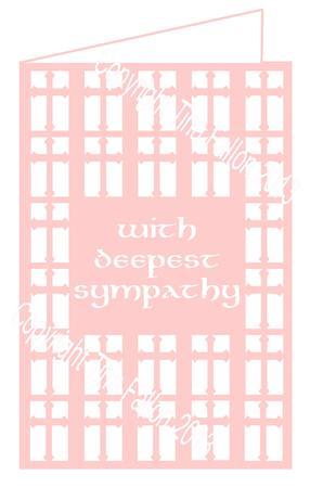 Deepest Sympathy Bereavement Card