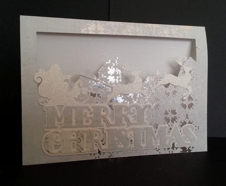 Merry Christmas Santa Card Template