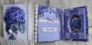 Hydrangea Combi Card Box No Words Studio Pnc File