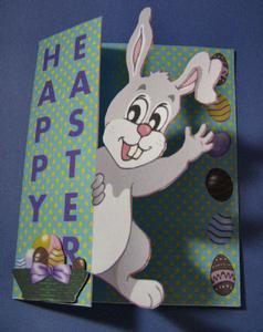 Easter Bunny 'print N Cut' No 4