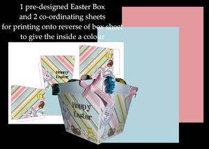 Easter Chocolate Box No 006