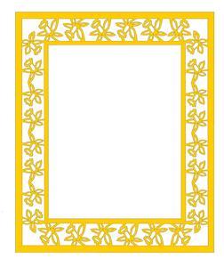 Daffodil Large Frame