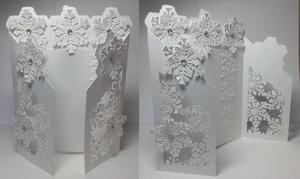 Frozen Snowflake Gatefold Card - Studio