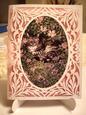 Beautiful Cut and Print Card Template Garden Cat Studio File