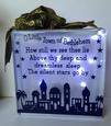 O Little Town of Bethleham - Christmas Nativity Block for Vi