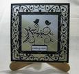 Love Birds Card Template - Romance,wedding,engagement, Invit