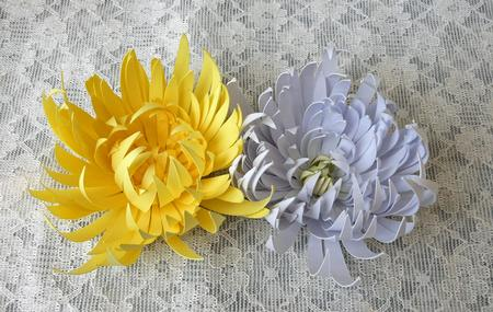 3D Chrysanthemum Flowers - craftrobo/cameo