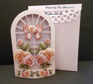 3D Flower Window Box Card & Box