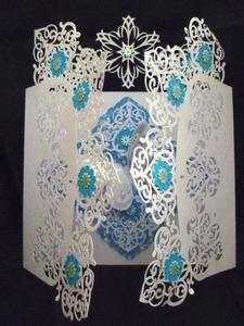 Fancy Doily Door Card - SVG