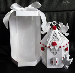 Wedding Dove House and Box Scanncut