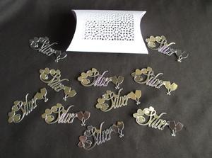 Make Ur Own Confetti Silver & Box SVG