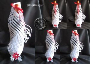 Wine Bottle Gift Wrap SCAL