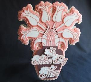 Tulip Vase Card Scanncut