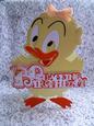 Scalloped Layered Quacking Birthday Card - GSD