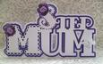 Scalloped Layered Step Mum Card - GSD
