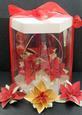 3D Poinsettia Basket & Box - SVG