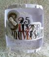 Scalloped Silver Anniversary Bendy Card - craftrobo/cameo