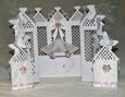 Concertina Princess Castle Card - SVG