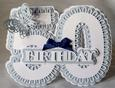 Stand Alone Scalloped Number 50 Birthday - SVG