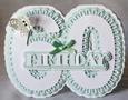 Stand Alone Scalloped Number 60 Birthday - craftrobo/cameo