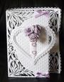 Heart Buckle Fold Card - craftrobo/cameo