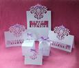 Heart Wedding Stationery Set - craftrobo/cameo