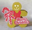Gingerbread Man Card - MTC