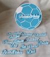 Football Card & Sentiments - GSD
