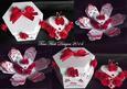Hexagon Heart Cake Surprise - craftrobo/cameo