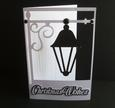 Christmas Lamp Card - scanncut Only