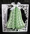 Christmas Bell Honeycomb Card Craftrobo/cameo