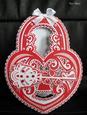 Heart Lock & Key Card GSD